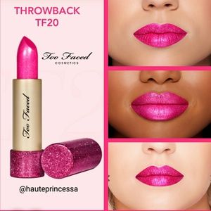 💄Too Faced TF20 Throwback lipstick